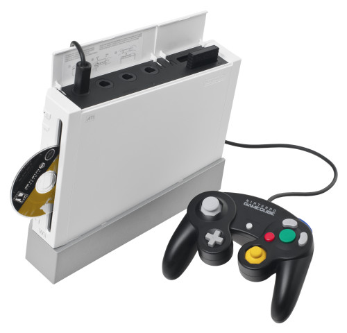 Wii with GameCube