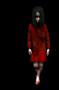This is Alma's model, as she appears most commonly in F.E.A.R.