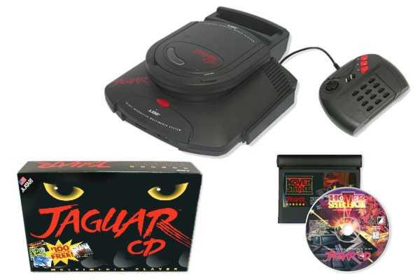 atari jaguar CD