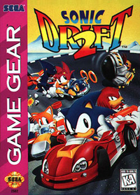 sonic drift 2 cover art