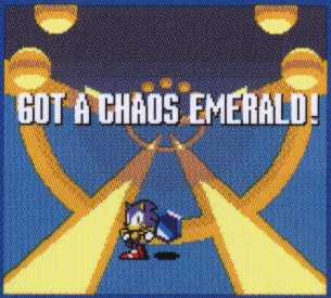 sonic pocket adventure special stage chaos emerald