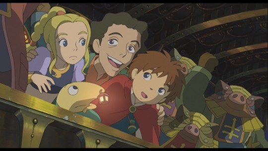 "Studio Ghibli's animated cutscenes are stunning and definitely ""easy on the eyes"""