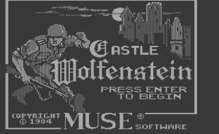 Castle Wolfenstein – Apple 2