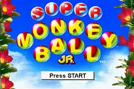 Super Monkey Ball Jr. – GBA