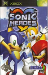 Sonic Heroes Cover