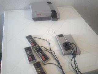 Controles NES Satelite