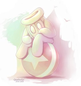 Sad Glover by Quadrackss - All credit for this image goes to the artist, Quadrackss!