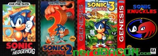 Sonic Genesis Collage