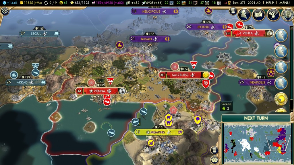 The game can get quite large and complex, depending of how much you put into it.