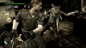 Albert Wesker always was a fan of melee moves.