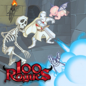 Dinofarm's previous title, 100 Rogues.