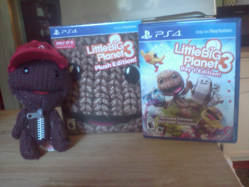 LittleBigPlanet 3 Plush/Day One Edition - PS4