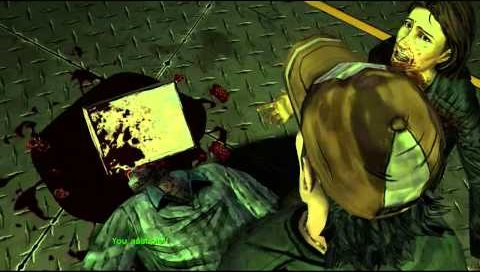 The decision you made in the beginning ended up like this - did you save the group or kill an innocent man?
