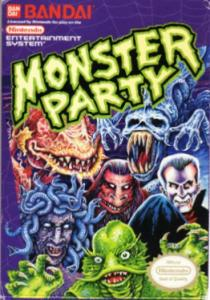 monster party box art