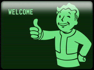 Pip-boy guarantees your safety in your new Vault-Tech home!