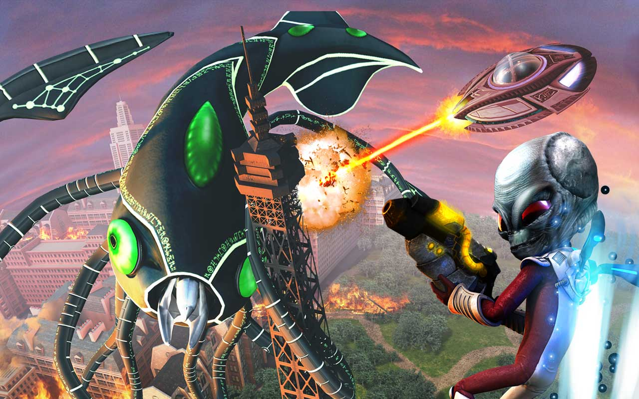Destroy All Humans! Path of the Furon (preowned) - EB Games Australia