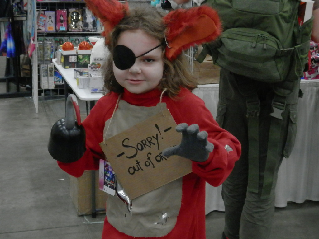 I almost adopted this girl. Foxy the Pirate from Five Night's at Freddy's.