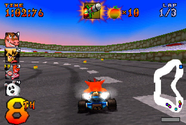 Image result for crash 4 game racing