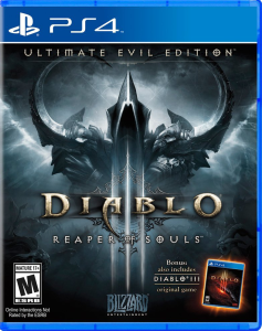 Diablo 3 Box Art PS4
