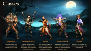 Diablo 3 Classes