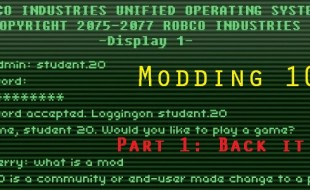 Part 1: Modding 101: Backitup, Backitup