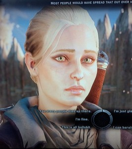 The wonders of advanced character creation . . .