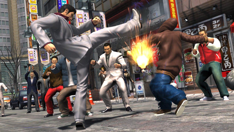 yakuza 3 kick
