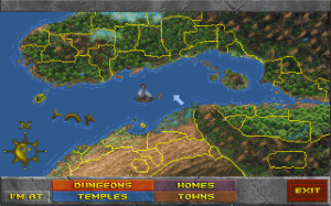 Daggerfall map