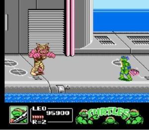 Teenage Mutant Ninja Turtles III: The Manhattan Project - NES