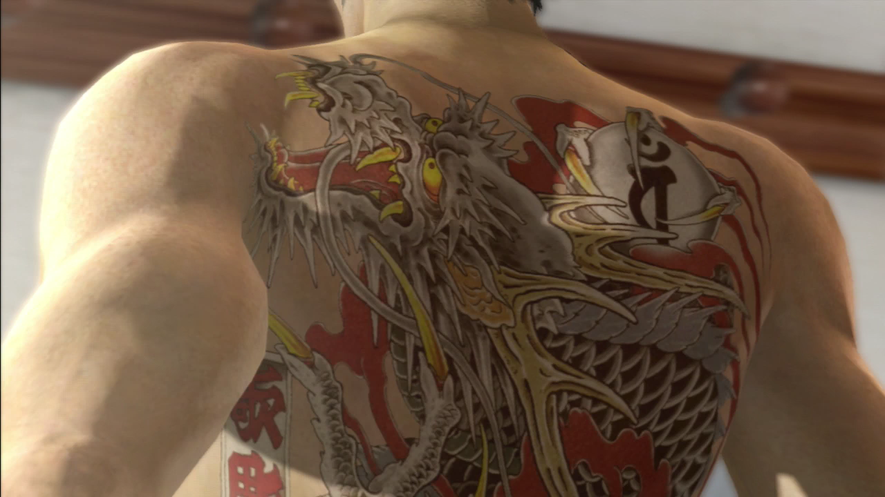 yakuza 3 tattoo