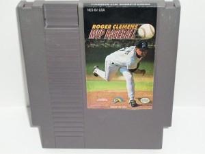 NES-GAME-Roger Clemens MVP Baseball