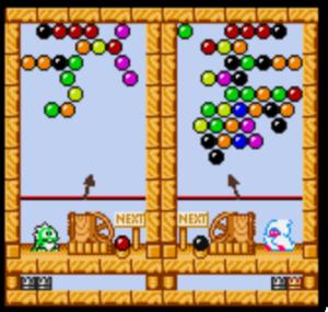 Puzzle Bobble Mini vs