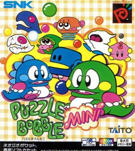 Puzzle Bobble Mini - Neo Geo Pocket Color