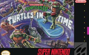 TMNT IV: Turtles in Time – SNES