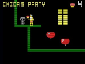 Chica's Party mini-game.