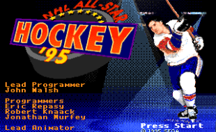 NHL All-Star Hockey '95 – Sega Genesis