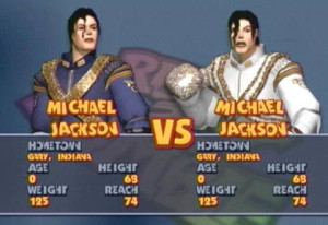 The dream fight. Michael Jackson vs. Michael Jackson. South Park would be proud.