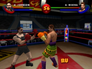 The arcade boxing style of Ready 2 Rumble. Eees beautiful!