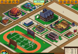The odd layout of what your school will likely look like.