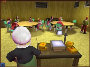 The developers need to be schooled by this teacher on how to actually make a school tycoon game.