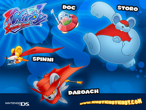 Kirby: Squeak Squad - DS