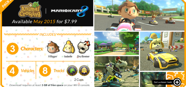 Mario Kart 8 Version 4.0 DLC – Wii U