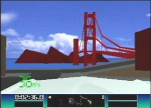 The Golden Gate Bridge. Now this I recognize.