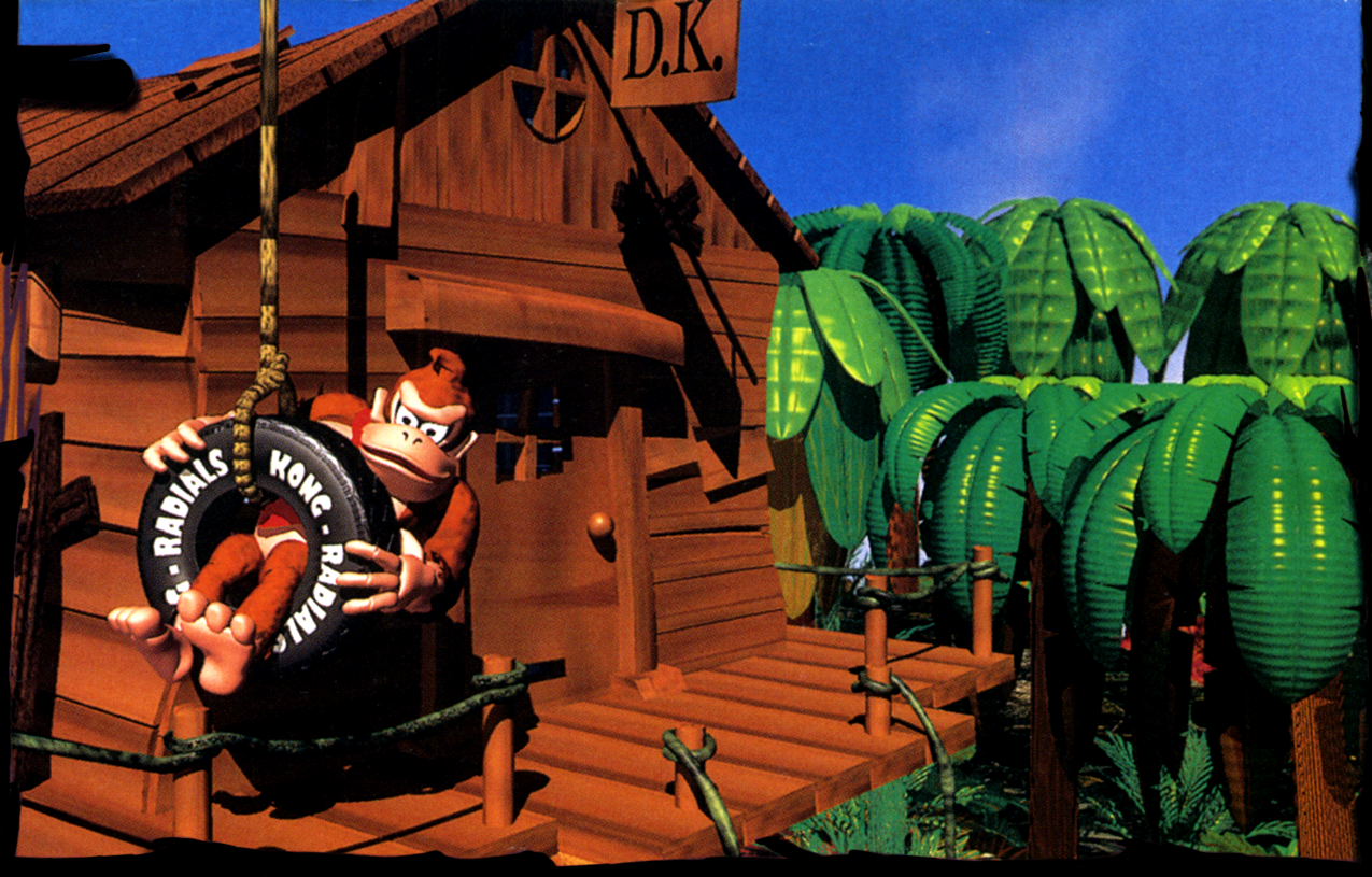 donkey kong country art
