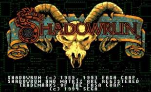 Shadowrun – Sega Genesis