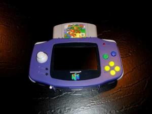 Modder Hailrazor's N64 Boy, an example of a modded GBA.