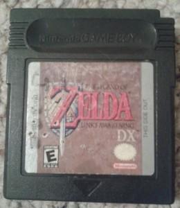 My real copy of The Legend of Zelda: Link's Awakening DX.
