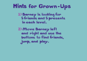 Adults need help with this game too, y'know.