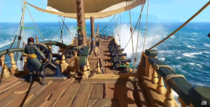 Rare's new I.P. Sea of Thieves was an intriguing highlight of E3 2015