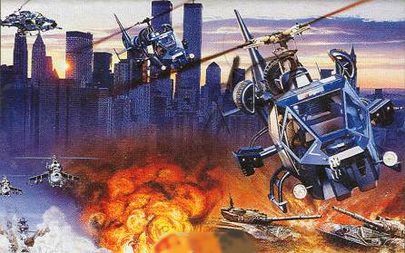 Super Thunder Blade – Sega Genesis